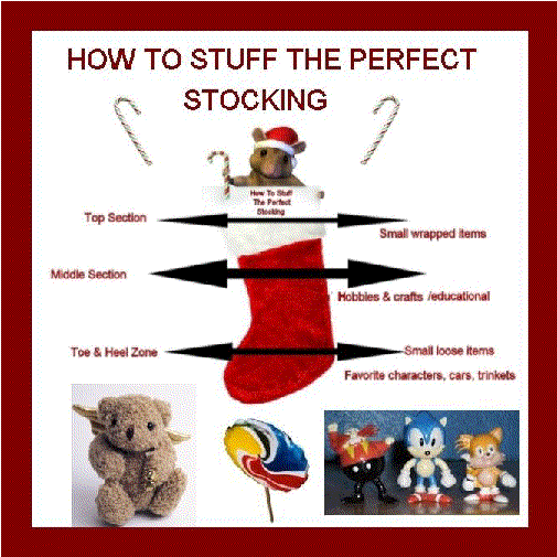 The Art Form of Stuffing Stockings