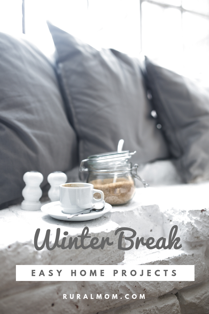 Easy Home Projects for Winter Break