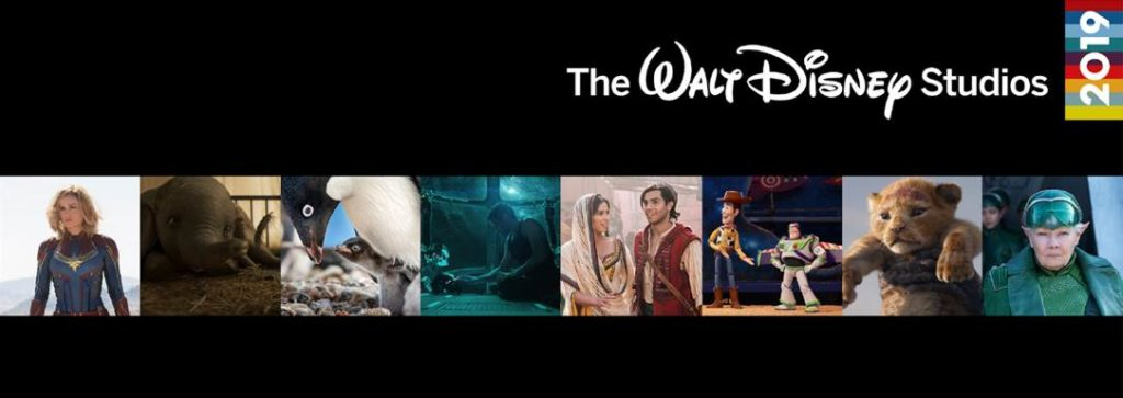 Captain Marvel, Aladdin, Penguins and More – 2019 Walt Disney Studios Movie Lineup!
