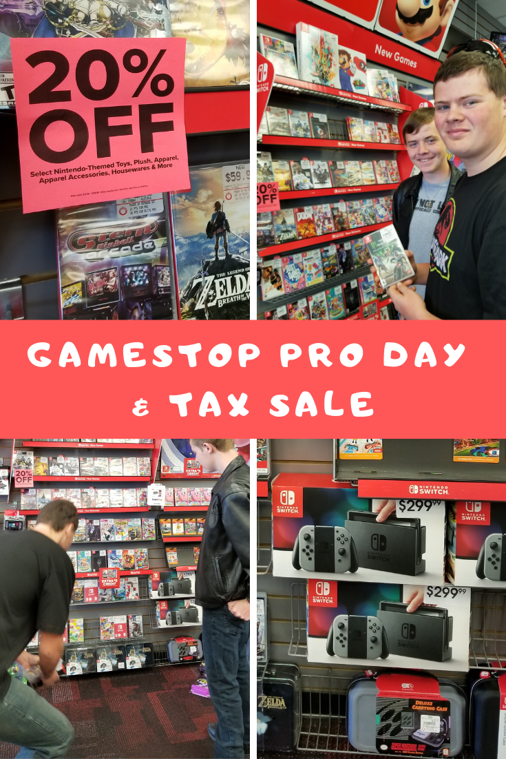 Awesome-Good Deals at GameStop PRO DAY and Tax Sale!