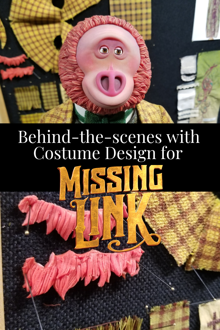 Behind-the-scenes with Costume Design for MISSING LINK