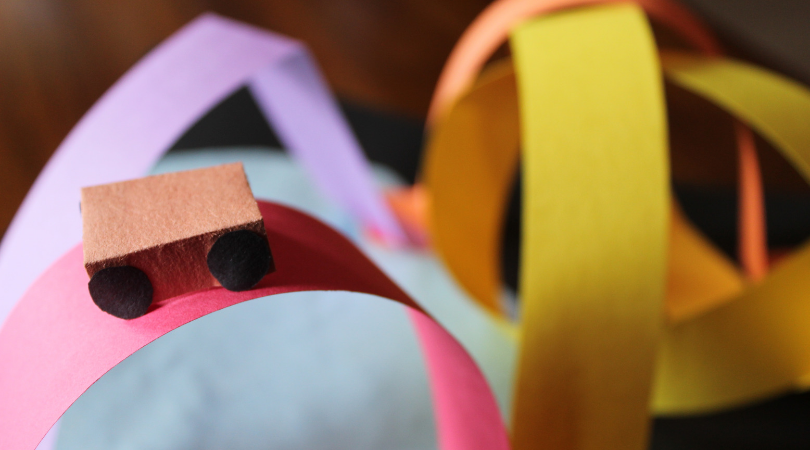 Roller Coaster Craft inspired by WONDER PARK