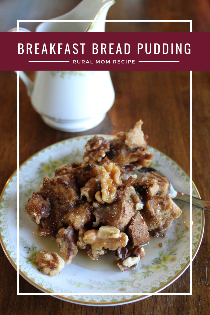 Gluten Free Breakfast Bread Pudding