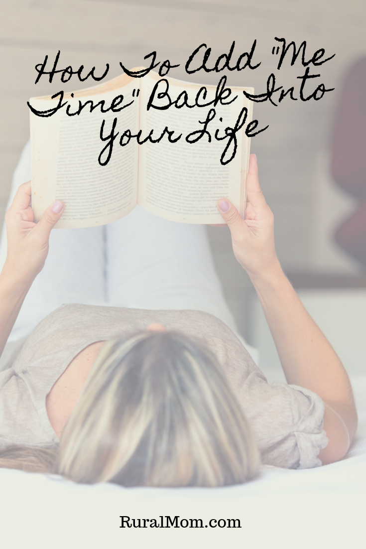 "How To Add ""Me Time"" Back Into Your Life"