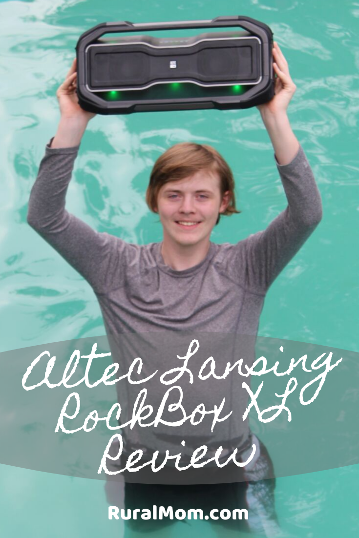 Get Your Party Started with the Altec Lansing RockBox XL Waterproof Bluetooth Portable Speaker