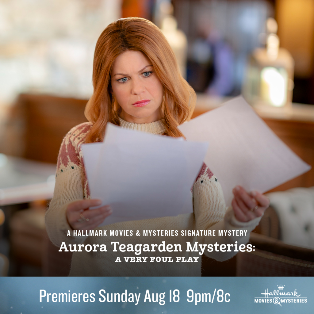 "Hallmark Movies & Mysteries ""Aurora Teagarden Mysteries: A Very Foul Play"" Premiering this Sunday, August 18th at 9pm/8c!"