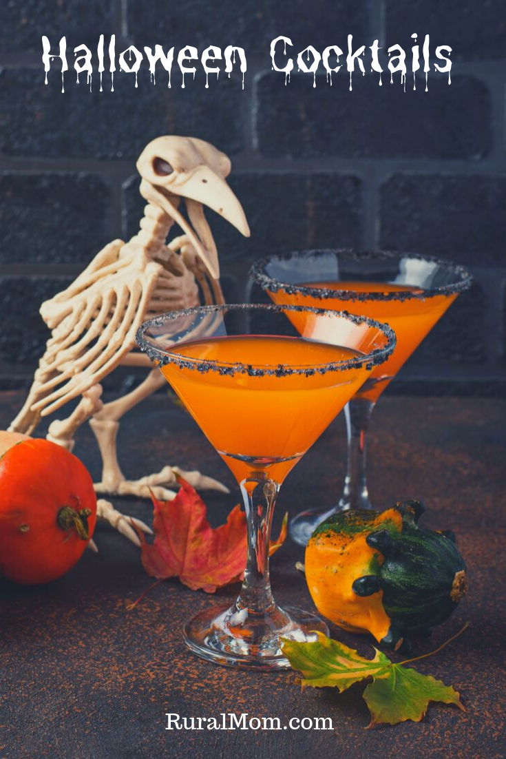 Quick and BOO-zy Halloween Cocktails