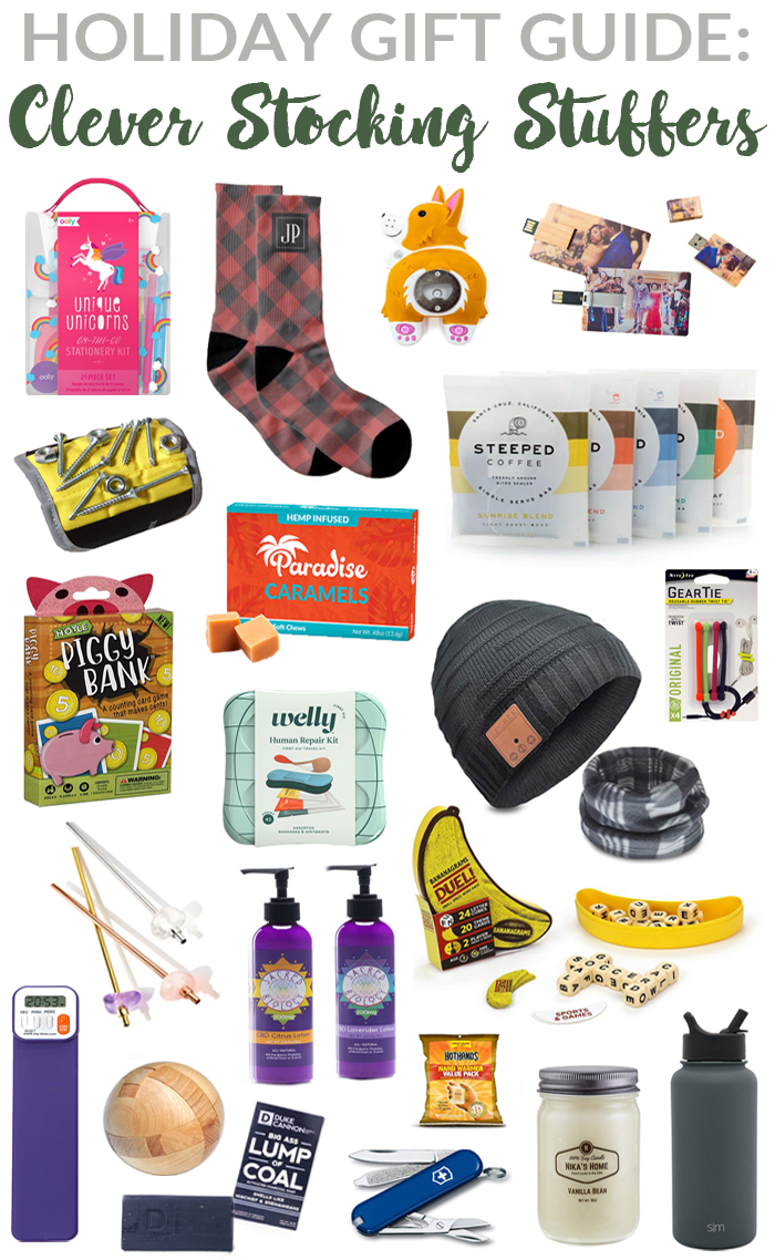Clever Stocking Stuffer Ideas | 2019 Rural Mom Holiday Gift Guide