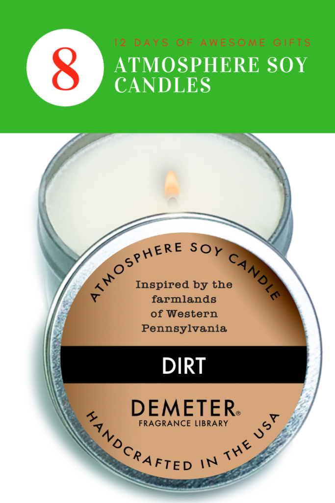12 Days of Awesome Gift Giving - Atmosphere Soy Candle