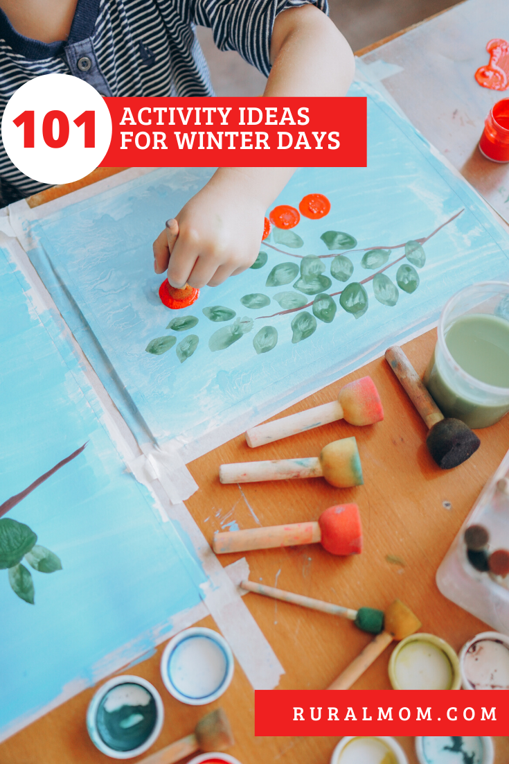101 Activity Ideas for Winter Days