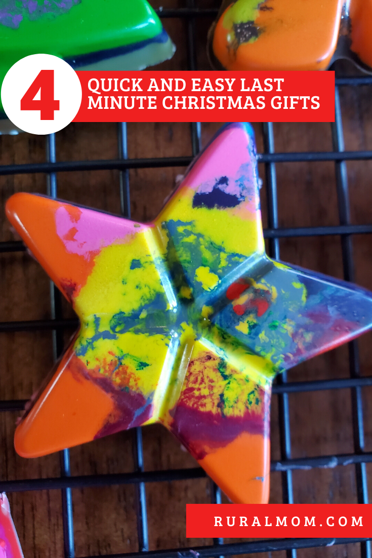 4 Quick and Easy Last Minute Christmas Gifts to Make