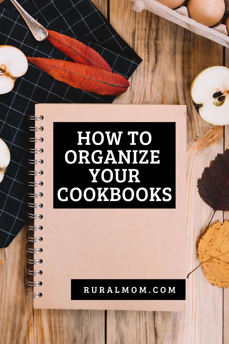 How Do You Organize Your Cookbooks?