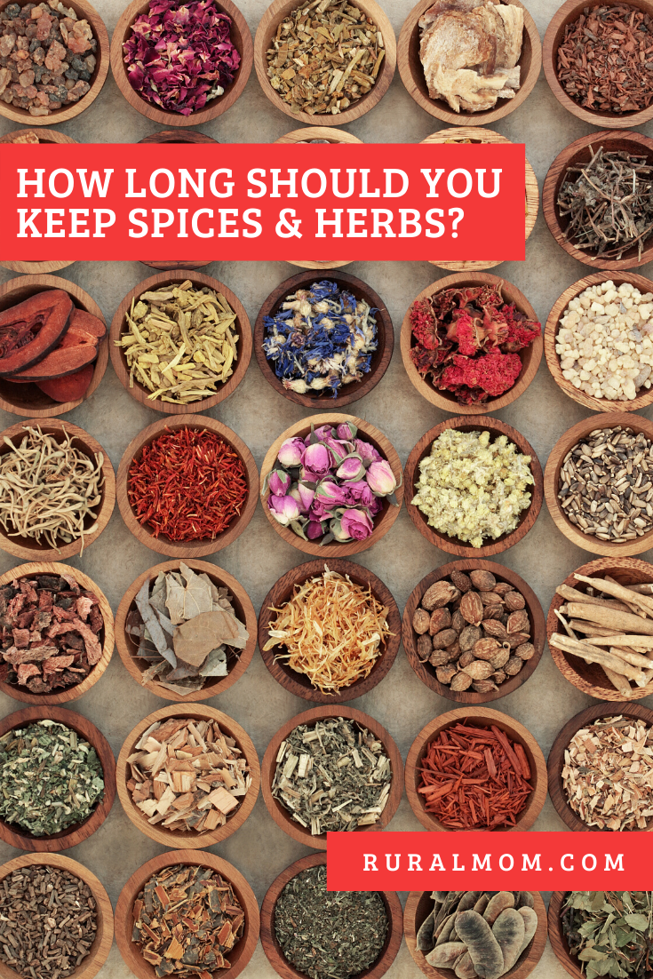 How Long Should You Keep Spices and Herbs?