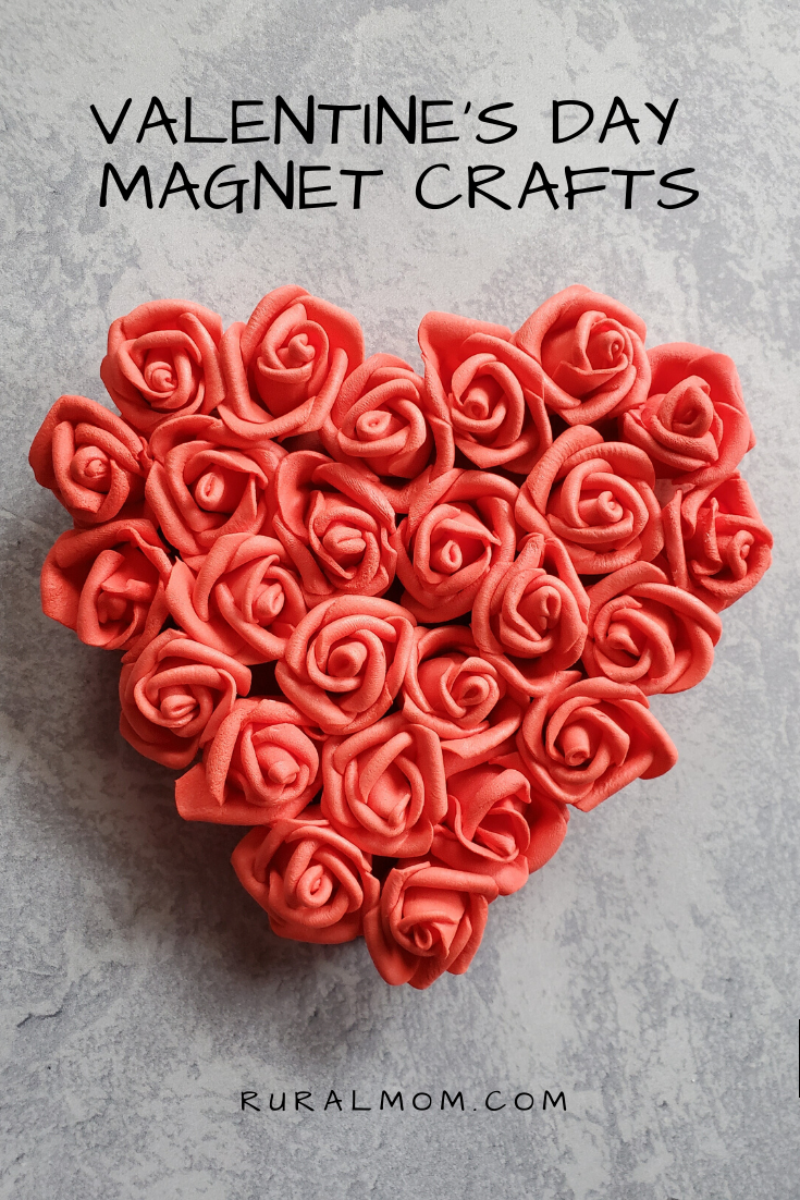 Quick and Easy Valentine's Day Heart Magnet Crafts