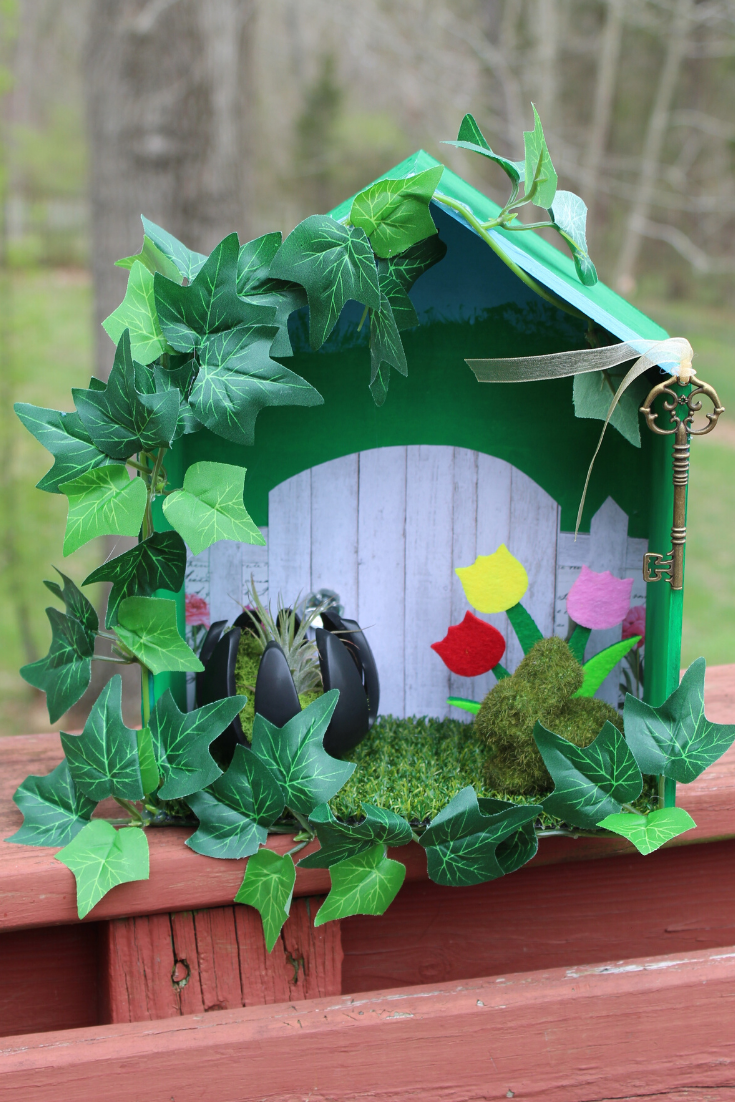 Secret Garden Shadow Box Craft