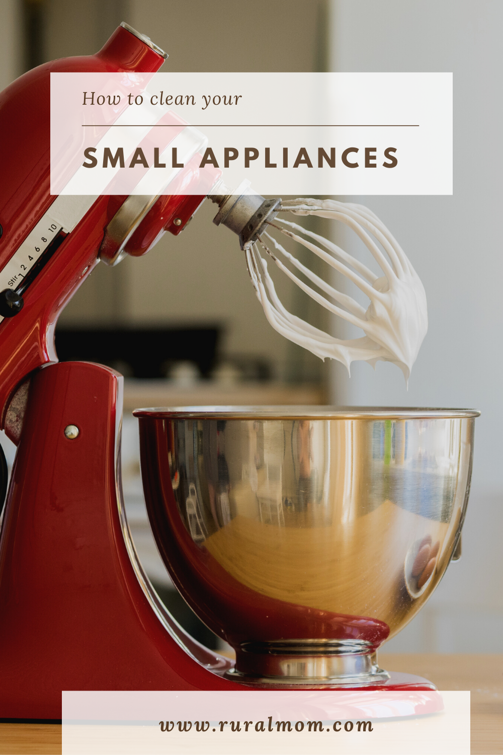 How to Keep Your Small Appliances Clean