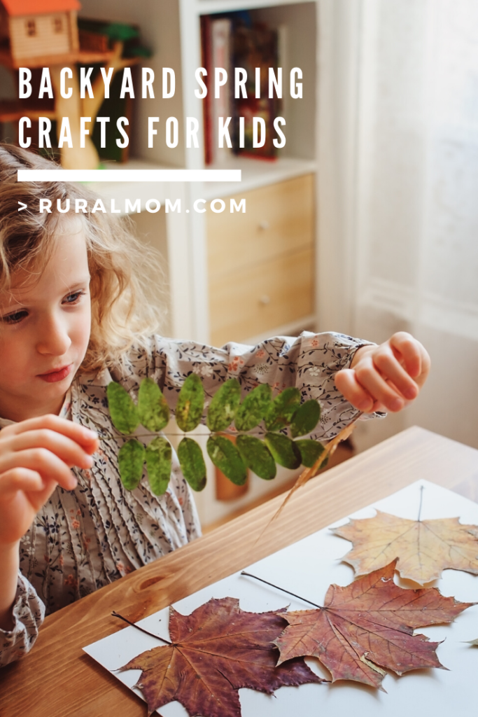 Backyard Spring Crafts for Kids