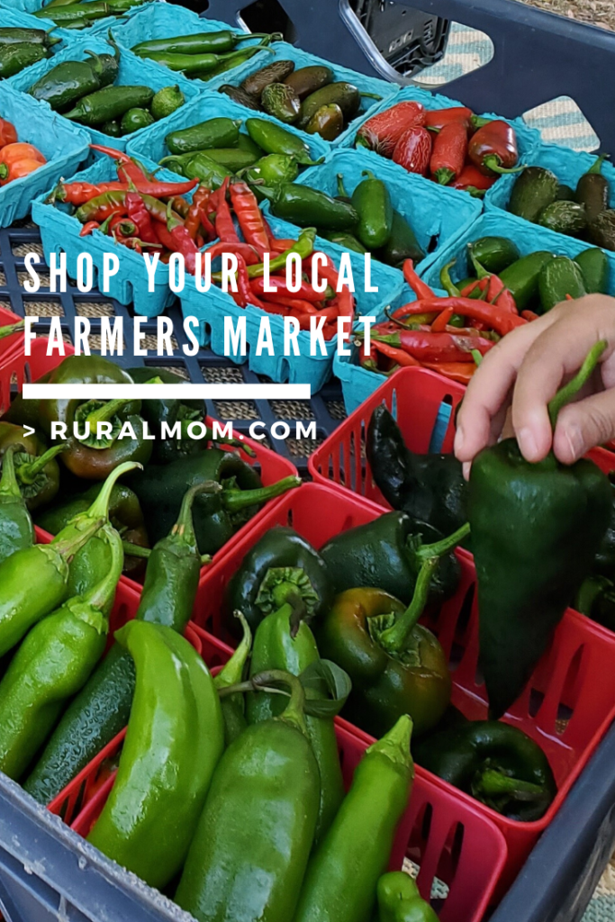 Support Local and Shop Your Farmers Market