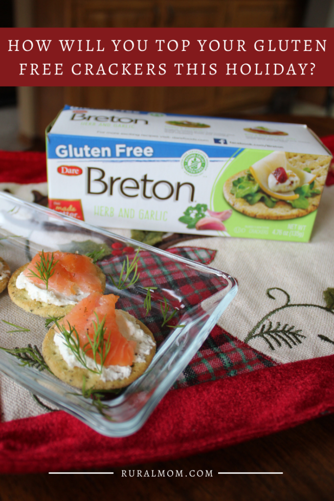 This holiday season, how will you top your gluten free crackers? #TopYourBreton