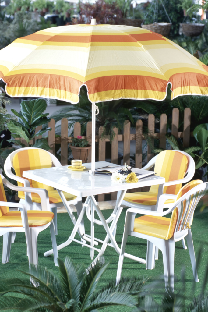 Is it time to add outdoor seating to your patio?