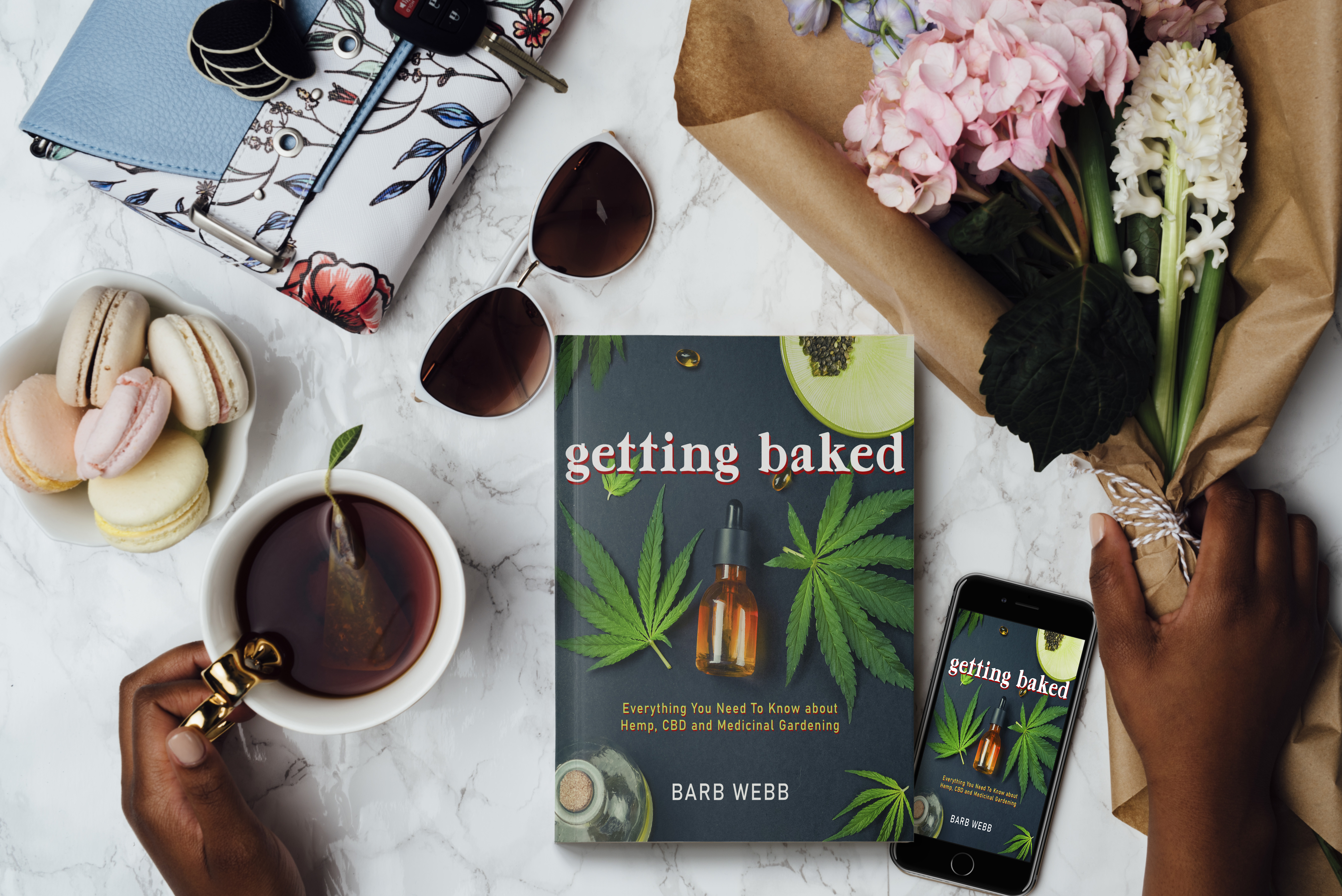 CBD Daily Wellness Log | Free Printable from GETTING BAKED
