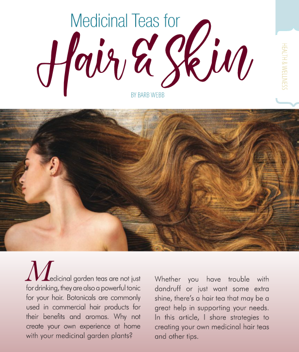 Medicinal Teas for Hair and Skin
