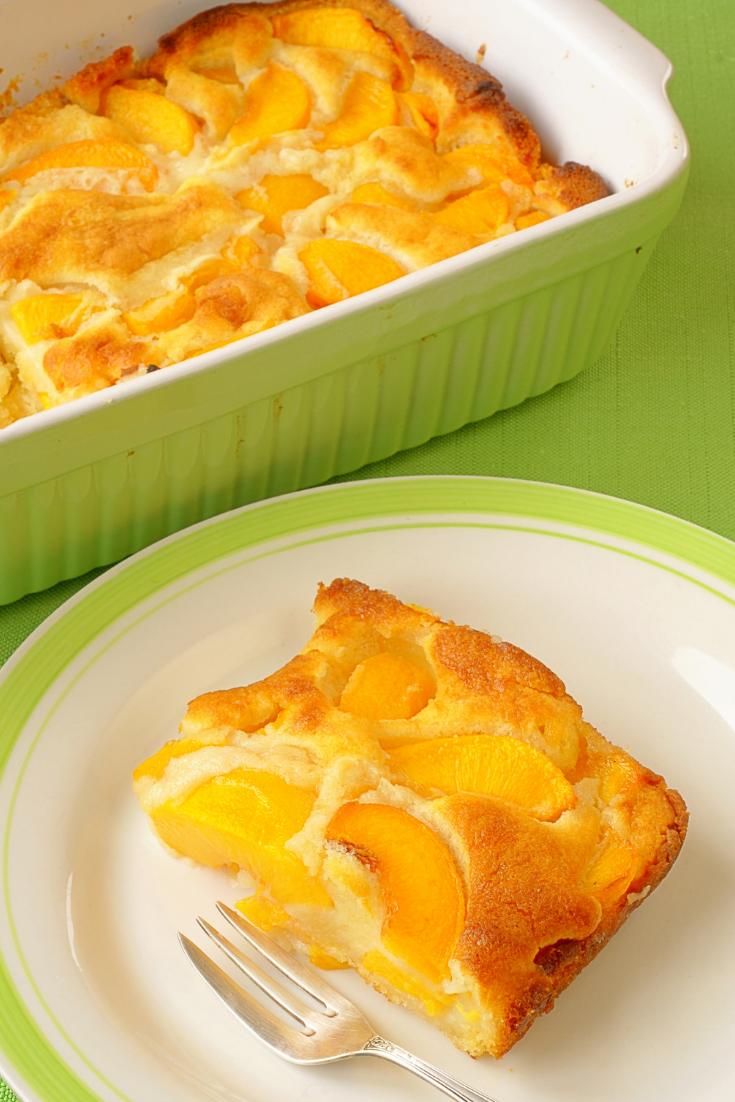 Farm Fresh Peach Cobbler Recipe