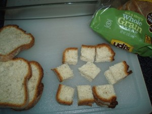 Gluten Free French Toast Souffle Bread Cubes