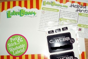 Label Daddy Camp Labels