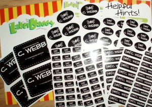 Label Daddy Camp Labels, lable view
