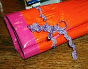 Duct Tape Mini First Aid Kit Roll