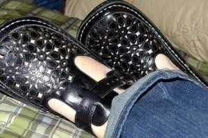 Alegria Breezy Dusty Black Shoes