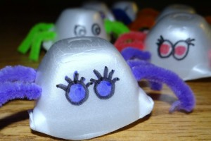 Egg Carton Critter Craft Spider