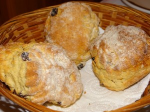 Sweet Irish Breakfast Scones