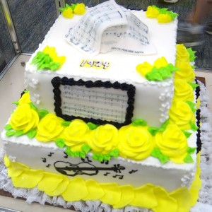 Music Cake spotted at Kentucky State Fair