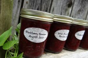 Rural Mom Wild Blackberry Bourbon Jam