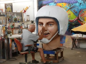 Mardi Gras World Artist