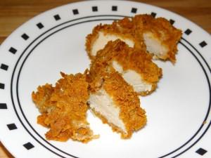 Garden Ranch Style Chicken Strips #Recipe