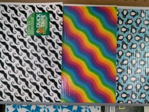 Duck Tape Sheets
