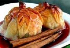 Autumn Apple Dumplings #Recipe