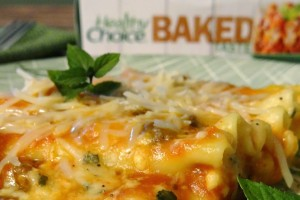 Healthy Choice Baked Lasagna with Meat Sauce