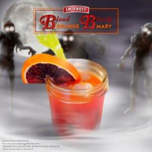 Blood Orange Bloody Mary #recipe #halloween