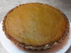 No Bake Gluten Free Pumpkin Pie #Recipe #glutenfree