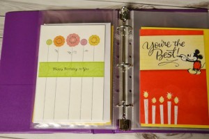 Create A Birthday Card Station and Never Miss A Birthday! | Simple #DIY Solution #ValueCards #shop #cbias