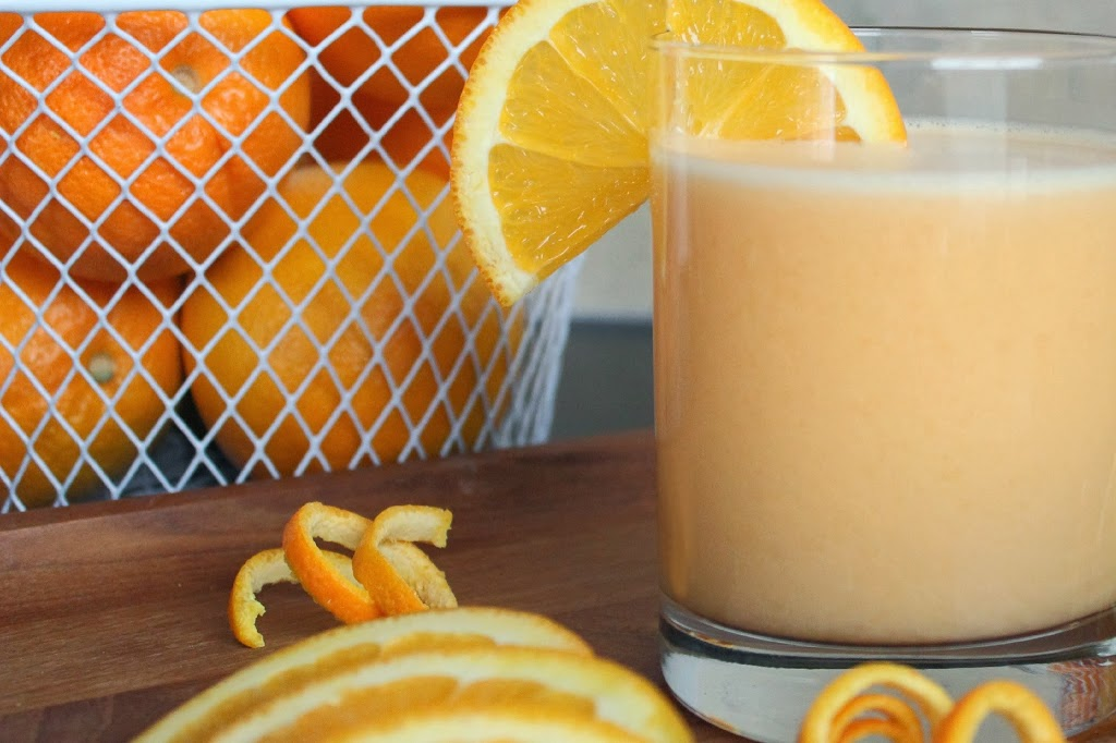 Heart Healthy Orange Smoothie #Recipe Ideas