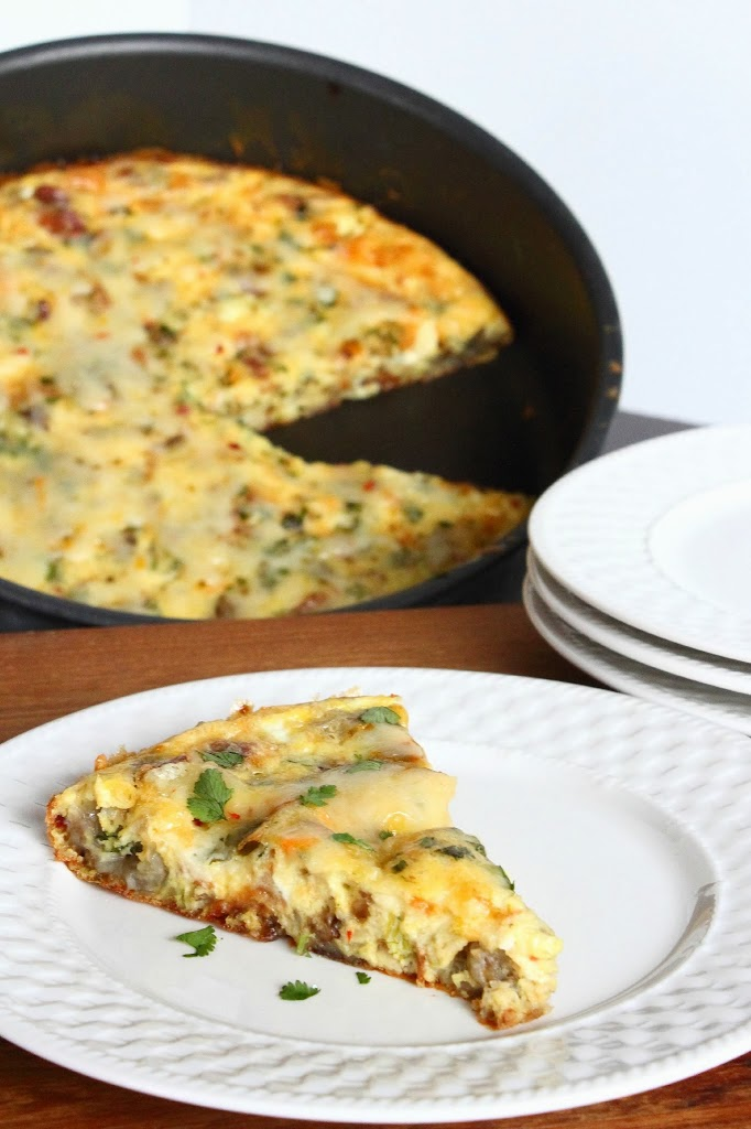 Quick & Delicious Tex-Mex Breakfast Egg Bake #Recipe