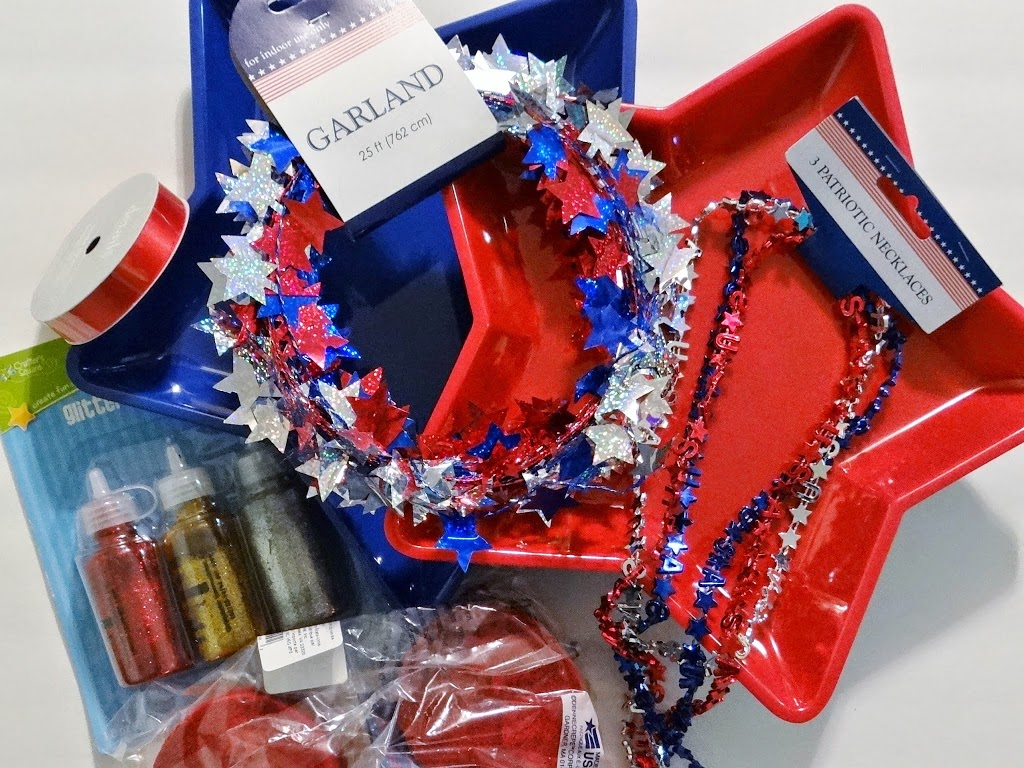 Dollar Tree Crafts Shabby Chic American Flag Inspired