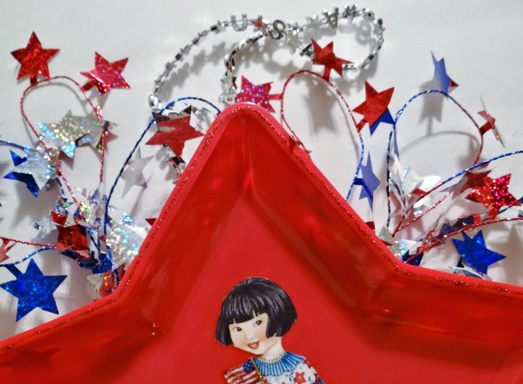 Dollar Tree Crafts: Fourth of July Patriotic Wreath