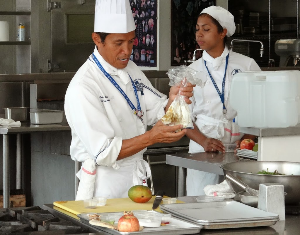 Cooking at Le Cordon Bleu - Every Bite a New Journey #100FootJourneyEvent