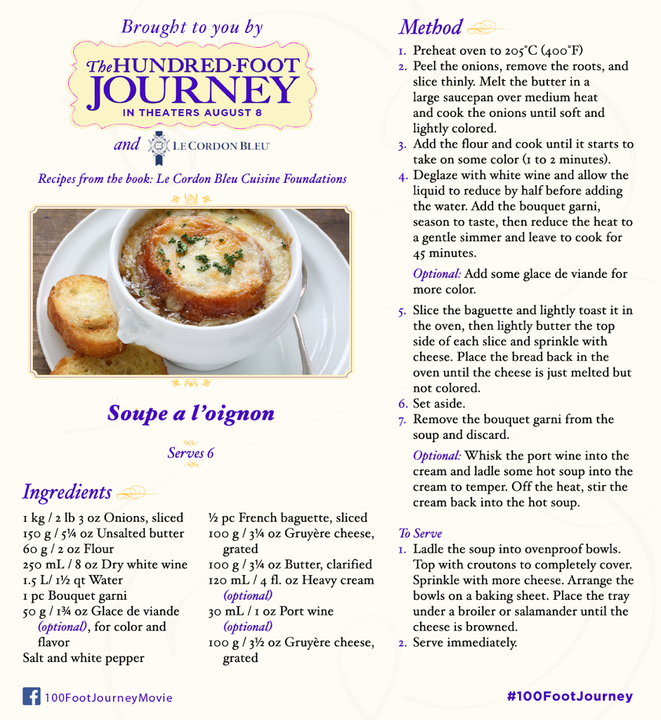 French Onion Soup Recipe #100FootJourneyEvent #FoodieFriday